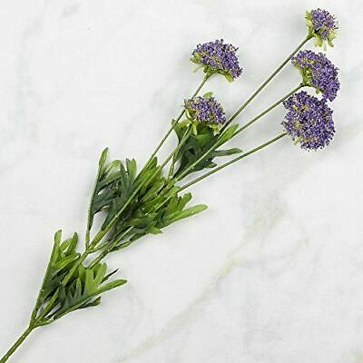 Lavender Artificial Wildflower Floral Stems, 4 sprays