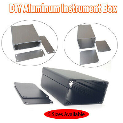 Aluminum Project Box Enclosure Case Electronic DIY Instrument Case 5 Sizes New