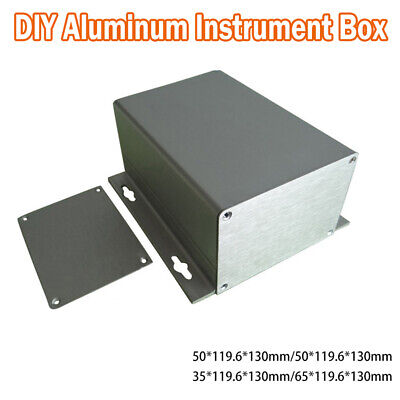 4 Types Aluminum Box Enclosure Case Project Electronic For PCB DIY New