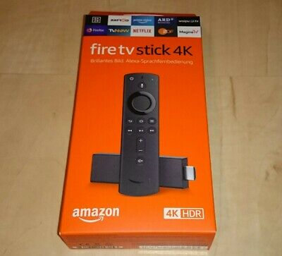 Amazon Fire TV Stick 4K Ultra HD mit Alexa-Sprachfernbedienung NEU + OVP