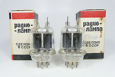 2 x NOS GI-30, ГИ-30, RUSSIAN POWER TUBES, OWN BOXES, SIMILAR TO GU-29, 829