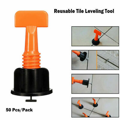 Reusable Anti-Lippage Tile Leveling Positioning System (75 Pcs/ Pack) T-lock