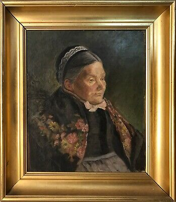 Portrait Of Commerce Bühler By 1929 Fritz Wimmer 1879-1960 Art Drawings