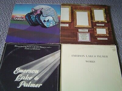 Assorted ELP Emerson, Lake & Palmer Original First USA Pressing Vinyl LPs - Nice