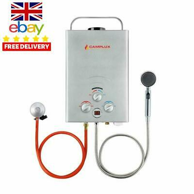 Gas Water Heater, Camplux Bw158S 6L Portable Tankless Propane Gas Water Heater,