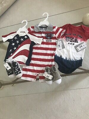 Boys Baby Clothes 12 Months- 18 Months/ 2 Size 5 Shoes