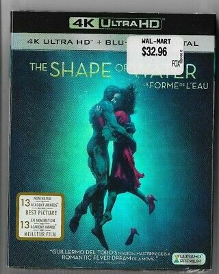 New Sealed 4K Ultra HD + Blu-Ray + Digital HD THE SHAPE OF WATER  Also In French