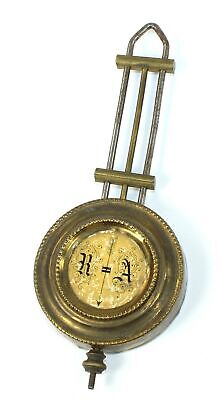 "R/A REGULATOR CLOCK PENDULUM 4-13/16"" - 1 oz. - SP633"
