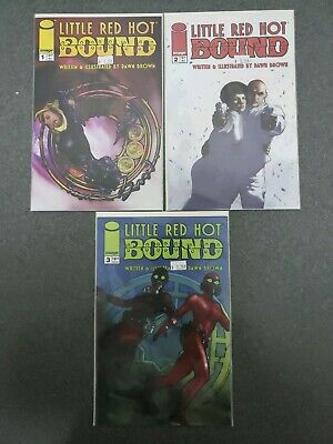 Little Red Hot Bound 1 2 3 Image Comics Complete Set Series Run Lot 1-3 VF/NM