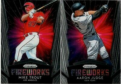2019 Panini Prizm Fireworks Insert Singles - You Pick & Complete Your Set