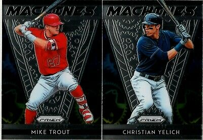 2019 Panini Prizm Machines Insert Singles - You Pick & Complete Your Set
