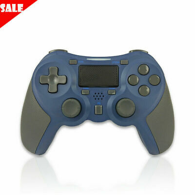 Navy blue Wireless Pro Controller Gamepad Dual Vibration Joypad Remote for PS4