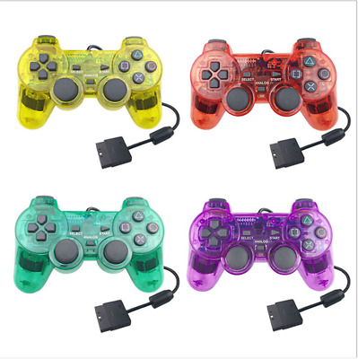PS2 wired gamepad controller dual shock joystick joypad for Playstation 2