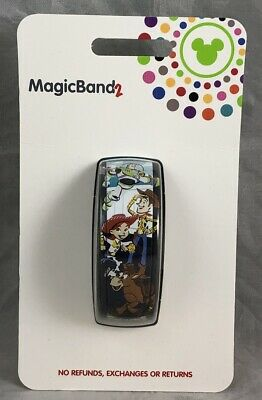 Disney Parks Toy Story Pixar Woody Buzz Jessie Bullseye Rex Magic Band 2 WDW LR