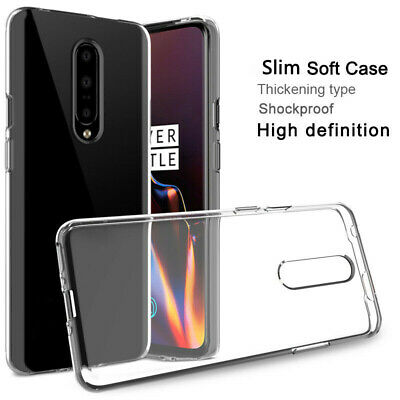 Ultra Thin Clear Case Soft Silicone TPU Cover For OnePlus 7 / 7 Pro 6 6T 5 5T 3T