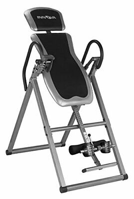 Heavy Duty Inversion Table with Adjustable Headrest and Protective Cover