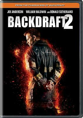 Backdraft 2 DVD R Joe Anderson  Chicago firehouse  investigate a deadly fire NEW