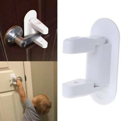 1pc Door Lever Lock For Baby Safety Handle Lock Safety Locks For Kids Child