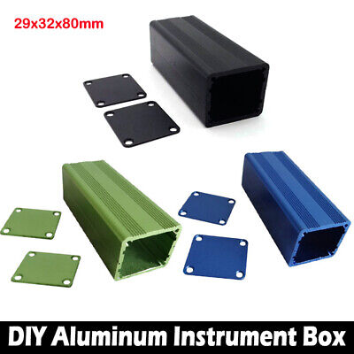 29x32x80mm Aluminum Project Box Enclosure Case Electronic DIY Instrument Case