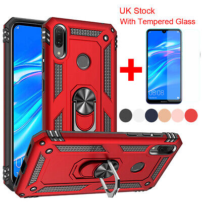 Hybrid Shockproof Armor Magnetic Cover Case For Huawei Y5 Y6 Y7 P Smart 2019