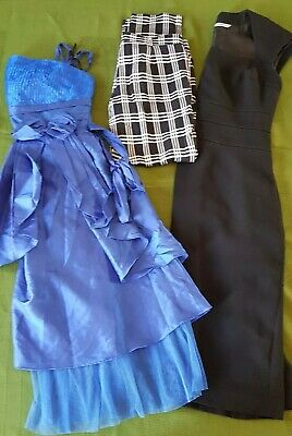 Bundle women's clothes size 8 dresses trousers work party clothes Job Lot 3Q