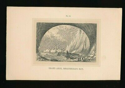 Orig. Ton-Lithographie Isle of Wight, Grand Arch Scratchells Bay, 1859  (ST1)
