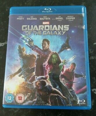 Marvel Guardians Of The Galaxy Blu Ray