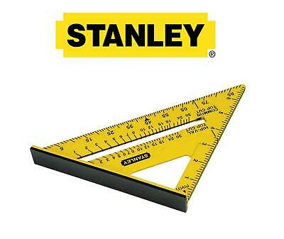"Stanley Roofing/Rafter Angle Marking Out Quick Square/Triangle 175mm 7"" STA46010"