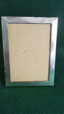 Small Stylish Victorian Sterling Silver Photo Frame H/M B'ham 1899