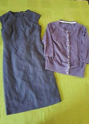 Bundle women's clothes size 16 NEXT dress cardigan work smart Job Lot 15Q