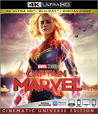 Captain Marvel - (2019, BLU RAY DISC ONLY) - Brie Larson