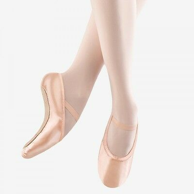Bloch 234 Stretch Satin Full Sole Pink Ballet Dance Shoes