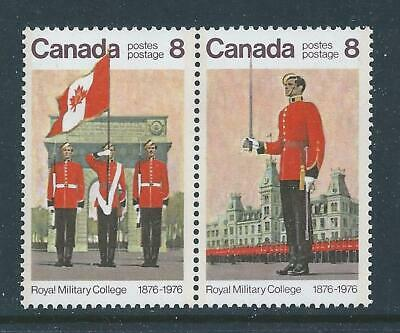 Canada #692i Se-tenant (693a) Red Dot Left To Arm Variety MNH **Free Shipping**