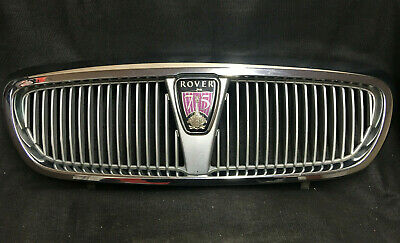 Genuine MG Rover 75 1999-2003 Front Chrome Grill + Badge DHB102540