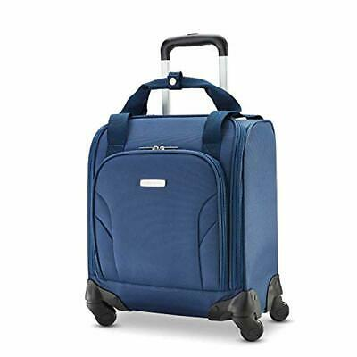Samsonite Underseat Spinner with Usb Port Imported Mesh Lining Electronics