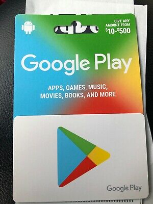 Google Play $500 Gift Card - Free USPS Shipping!