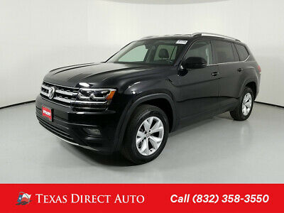 2018 Volkswagen Atlas 3.6L V6 SE Texas Direct Auto 2018 3.6L V6 SE Used 3.6L V6 24V Automatic FWD SUV
