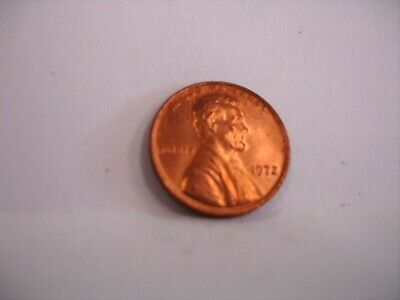 1972 P Lincoln Memorial Penny Cent Double Die Obverse Error Coin