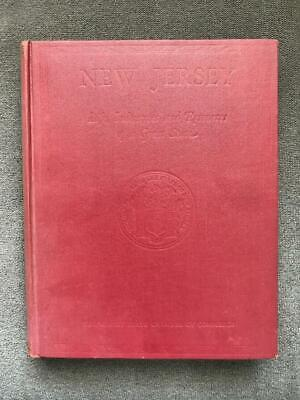 RARE 1928 1st Ed. NJ INDUSTRY ART HISTORY PHOTO BOOK VINTAGE PHOTOGRAPHS ANTIQUE