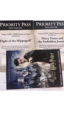Universal Studios Hollywood Passes Harry Potter The Forbidden journey