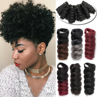Ombre Crochet Braiding Jamaican Bounce Curly Spring Twist As Human Hair Piece Us 8 39 Picclick