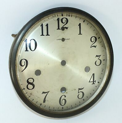 NEW HAVEN WESTMINISTER CLOCK DIAL PAN, BEZEL with GLASS - DH575
