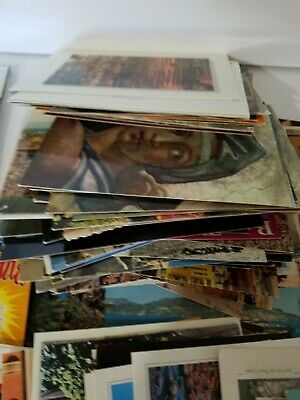 Vintage Postcard Lot 110+ USA & Europian Many Unposted. Used Preowned.