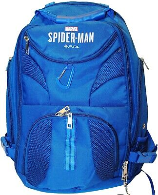 Rare Marvel's Spider-Man PS4 Bag Rucksack/Backpack from Promo/Press kit PS4