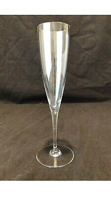 """Baccarat Crystal Dom Perignon Champagne Flute Glass 9 1/4"""" H Individually Sold"""