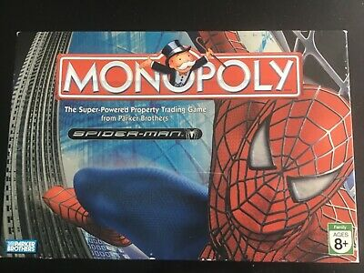 2007 Spiderman Monopoly Game - Parker Brothers - 100% Complete and VGC