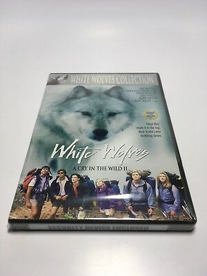 New Sealed Dvd White Wolves A Cry in the Wild II Wolf Collection Gosselaar