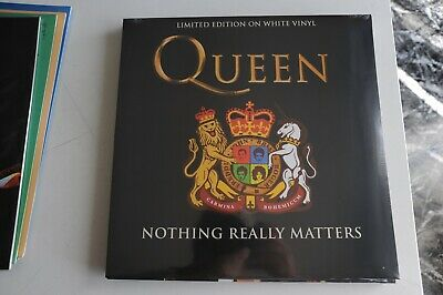 """The Queen - Nothing Really Matters  Vinile - 33 Giri -12"""" Color Limited Edition"""