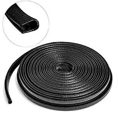 4M Large U-Type Weather Strip Car Door Seal Rubber Trim Truck Motor Van Roll  US