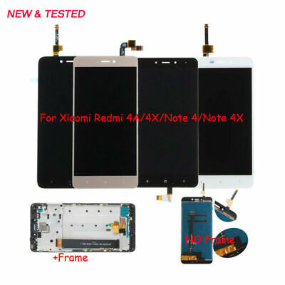 For Xiaomi hongmi redmi Note 4 4X 4A LCD Display Touch Screen+Frame Assembly @MY